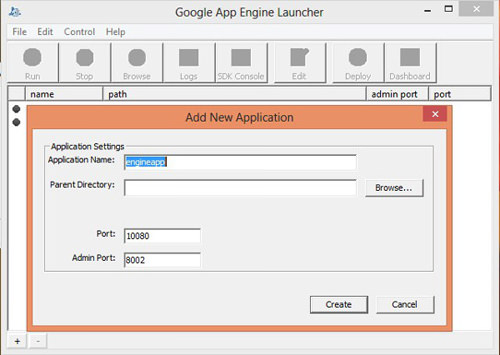 Develop app using GAE Python SDK