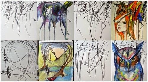 Kreatif Ibu Kepada Kanak kanak Ini Ubah Contengan Anaknya Menjadi Lukisan Indah