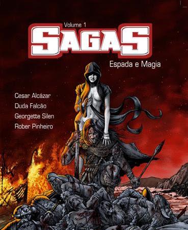 Sagas, volume 1: Espada e Magia de vários autores, Argonautas Editora