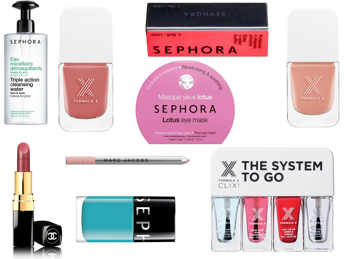 Madrid Sephora Wishlist