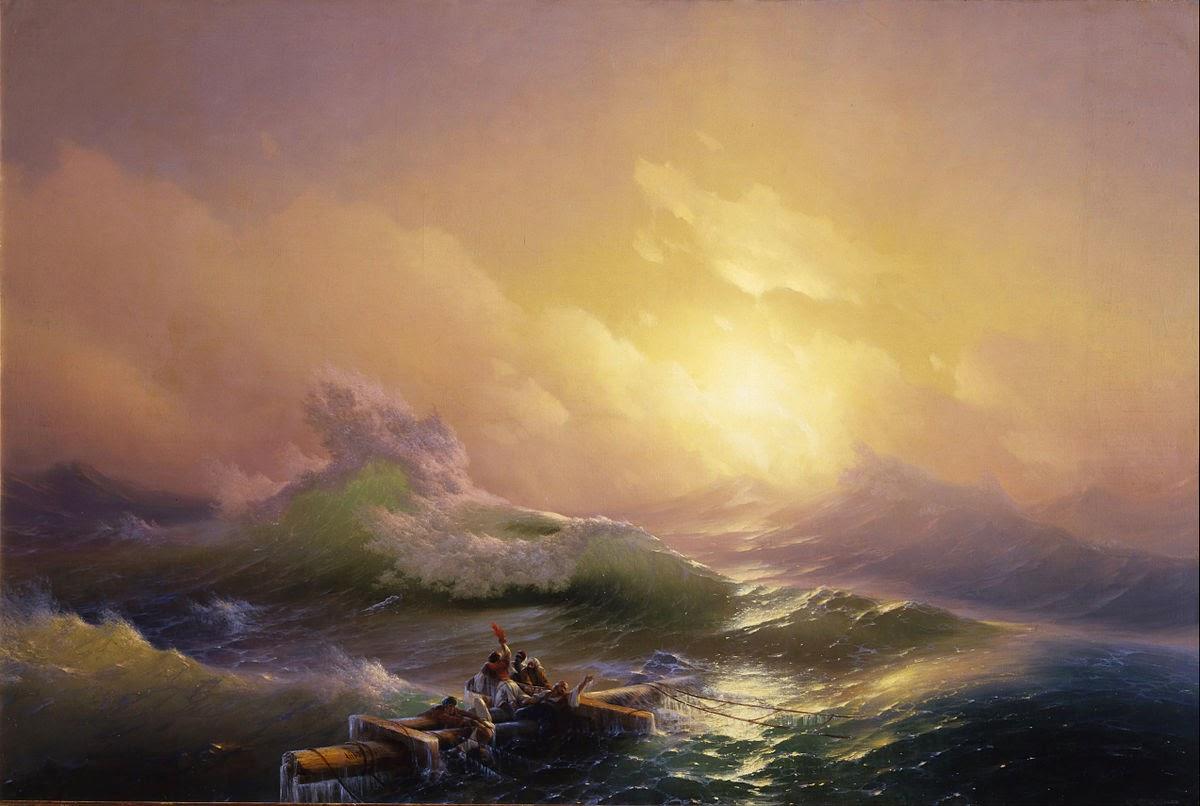 Ivan Aivazovsky Ninth Wave