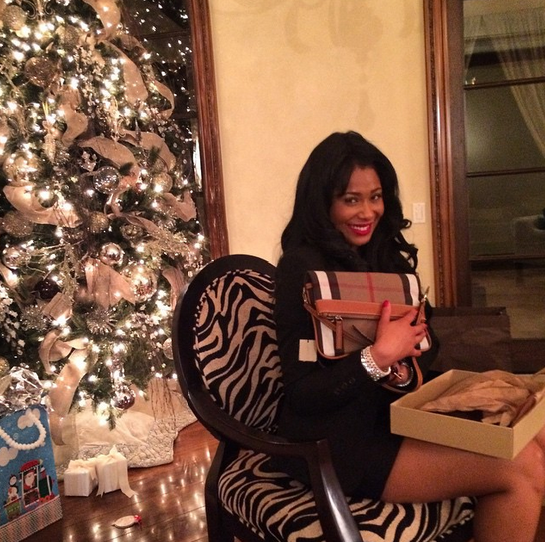 Althea and Benzino celebrate Christmas
