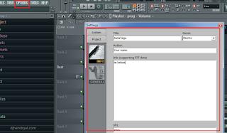 cara membuat tag properties pada lagu dj pake fl studio