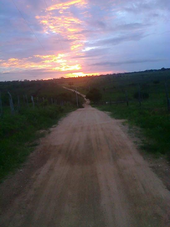 Final de tarde na cidade de  Serrinha