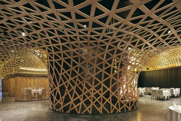 banksy: Bamboo Interior Design Concept