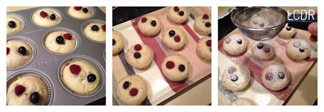 Receta de muffins de queso y frutos del bosque 04