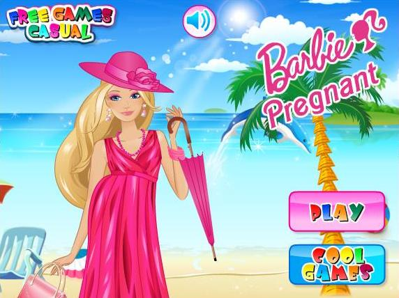 barbie pregnant games-barbie pregnant