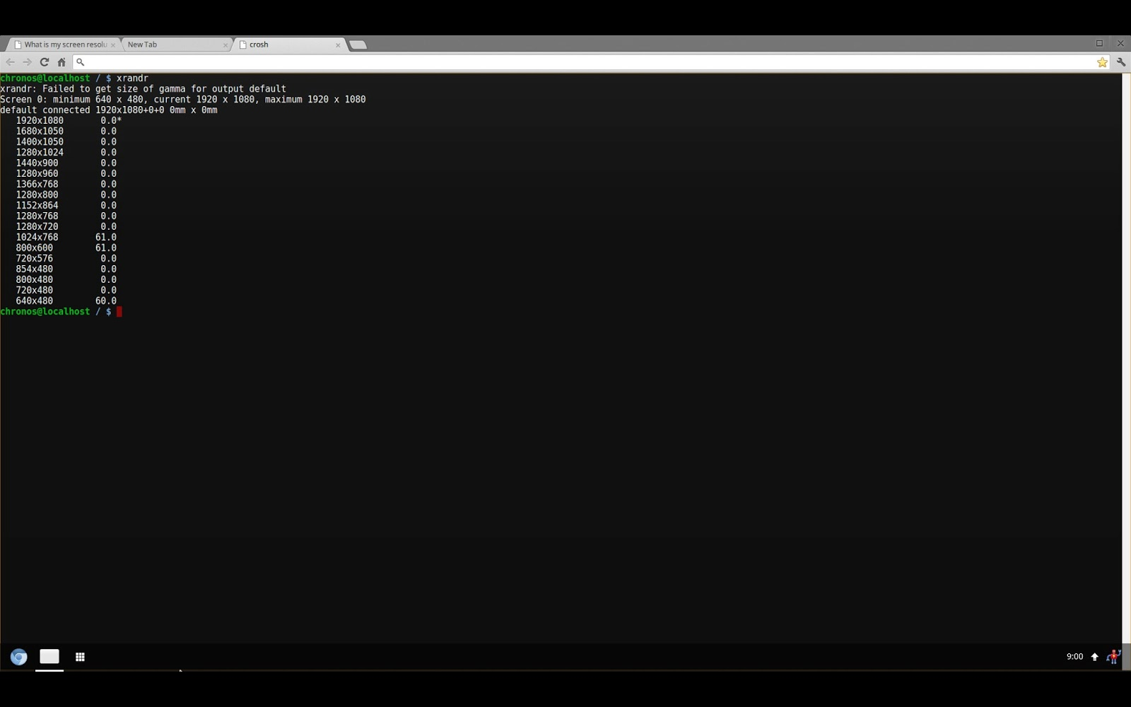 Fortysomething Geek: Chromebook Pixel Effective resolution 1280x850