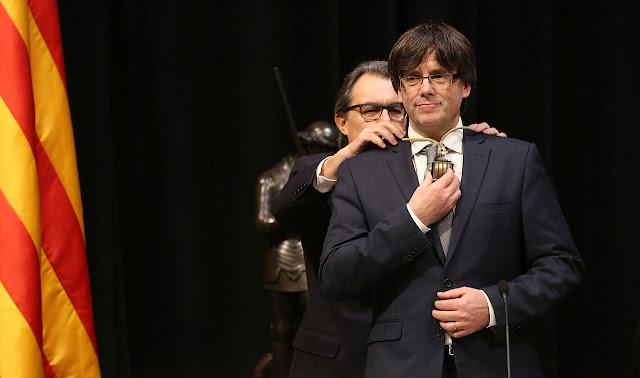 Carles Puigdemont, 130º presidente della Catalogna