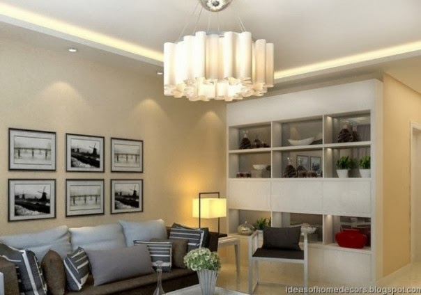 Modern living room lighting ideas for Living room lighting