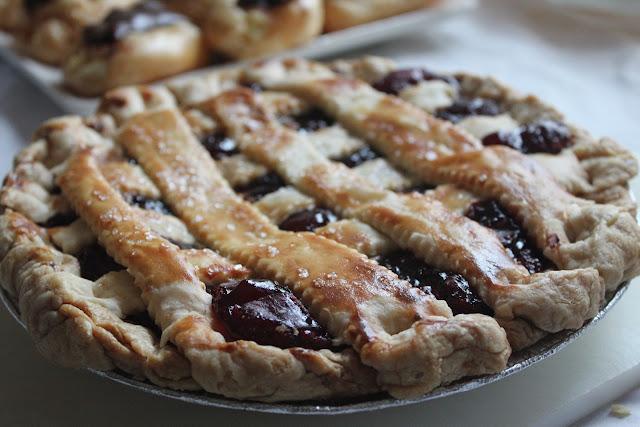 Cherry pie from Centerville Pie Co.