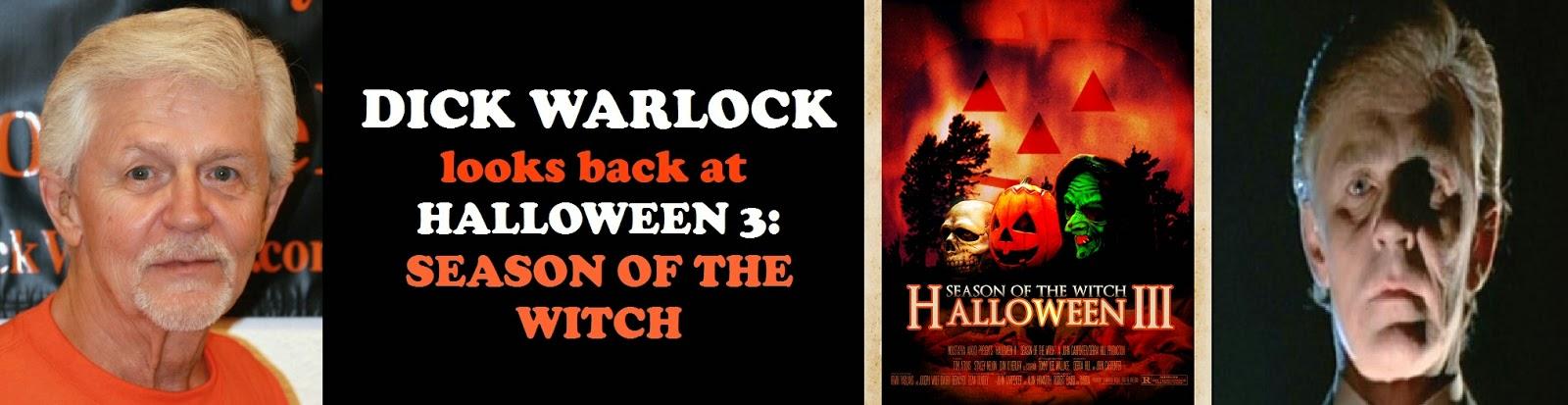 Dick Warlock talks about Halloween 3: Season Of The Witch ...