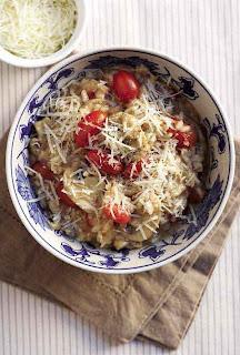 Mushroom and Tomato Risotto