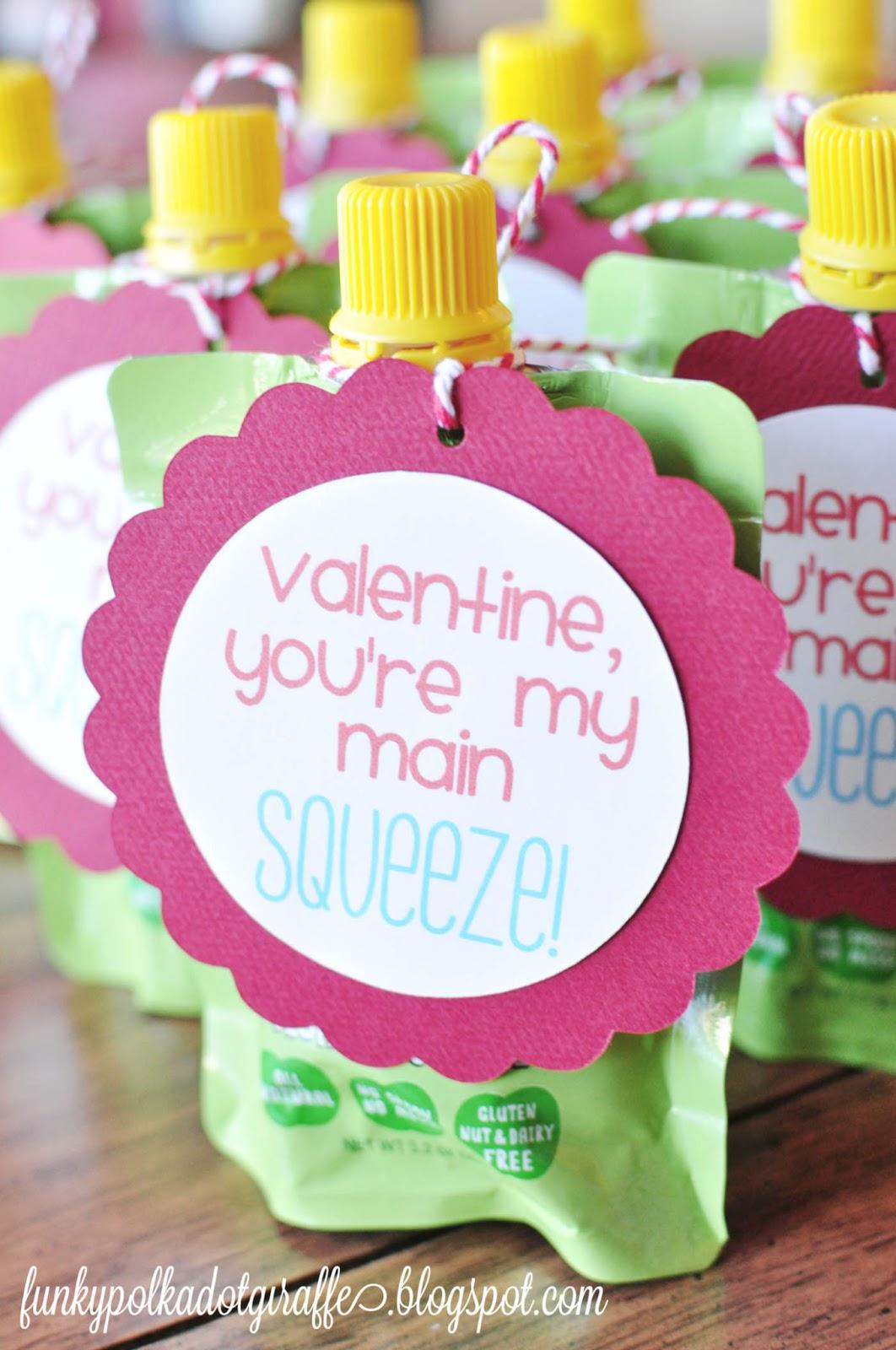Preschool Classroom Valentine Ideas ~ Funky polkadot giraffe preschool valentines you re my