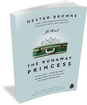 Book Cover: The Runaway Princess by Hester Browne