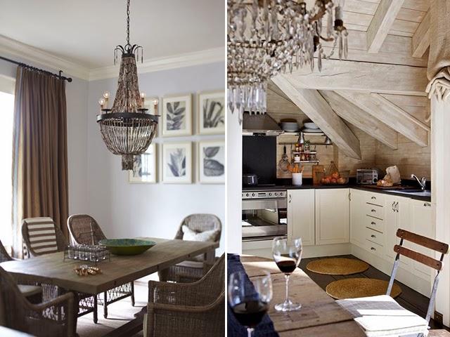 chandelieres vintage de lagrimas dorada para decoracion