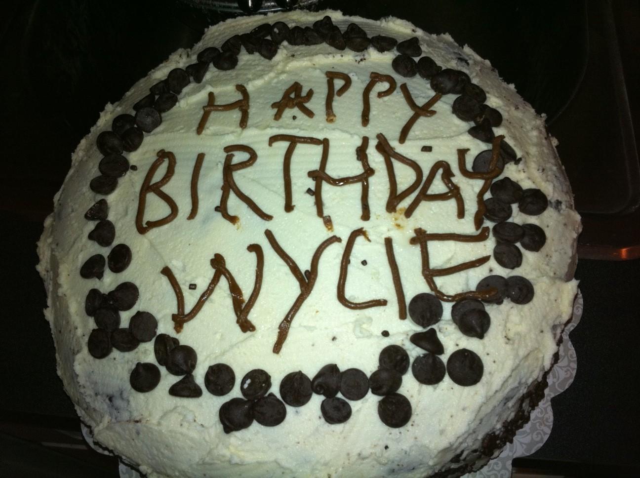 Birthday Cake For Wylie