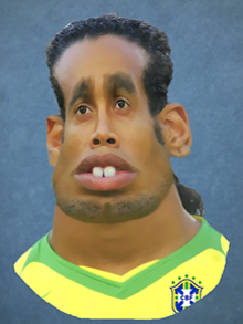 ronaldinho, futbol, brazil, caricatura, caricature, cartoon