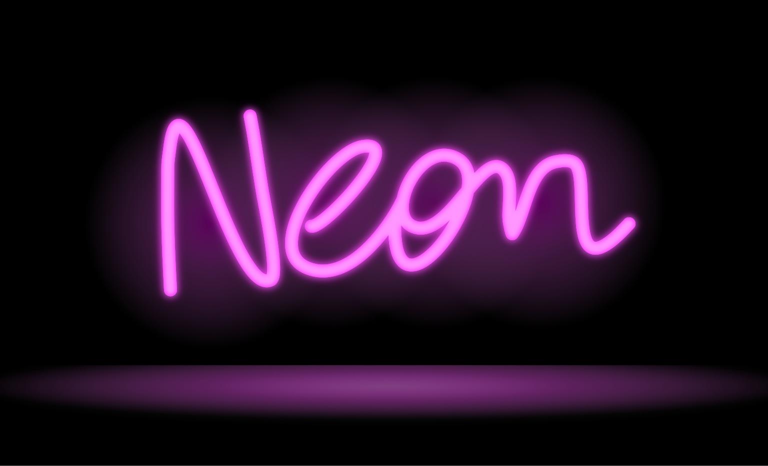 DigitalDrawer: Drawing a Neon Sign in Inkpad