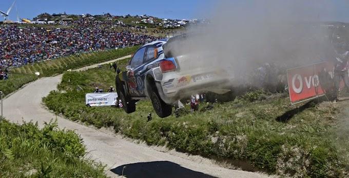 Latvala encabezó el triplete de VW en Portugal