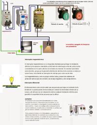 encendido y apagado de lamparas con pulsadores a traves del contactor de carga