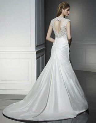 Kela Salvador A White Vs Ivory Wedding Dress