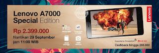 Harga dan promo Lenovo A7000 Special Edition