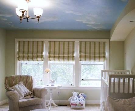 Decorar el techo del dormitorio del beb una excelente - Decorar el techo ...