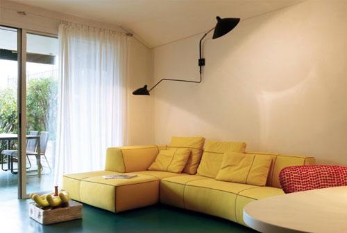 Camera Da Letto Moderna Arancione Monacoarreda In Centrale Orange ...