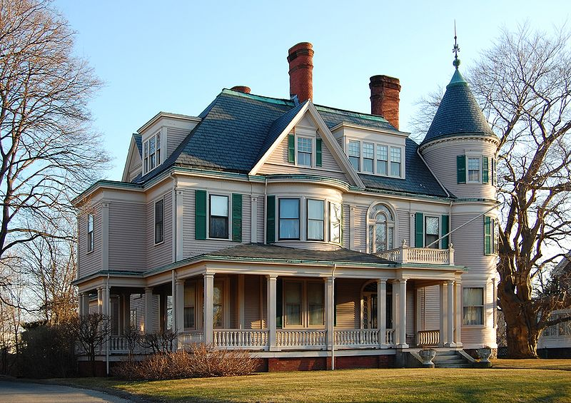 Fantasy writers unite history and american architecture pt 1 for Victorian house facts