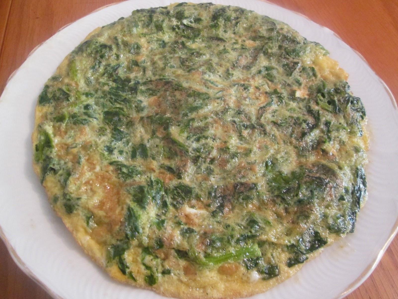 Cocinar no es dif cil pru balo tortilla de espinacas for Maneras de cocinar espinacas