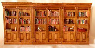 All about dollhouses and miniatures: De boekenkasten voor de ...