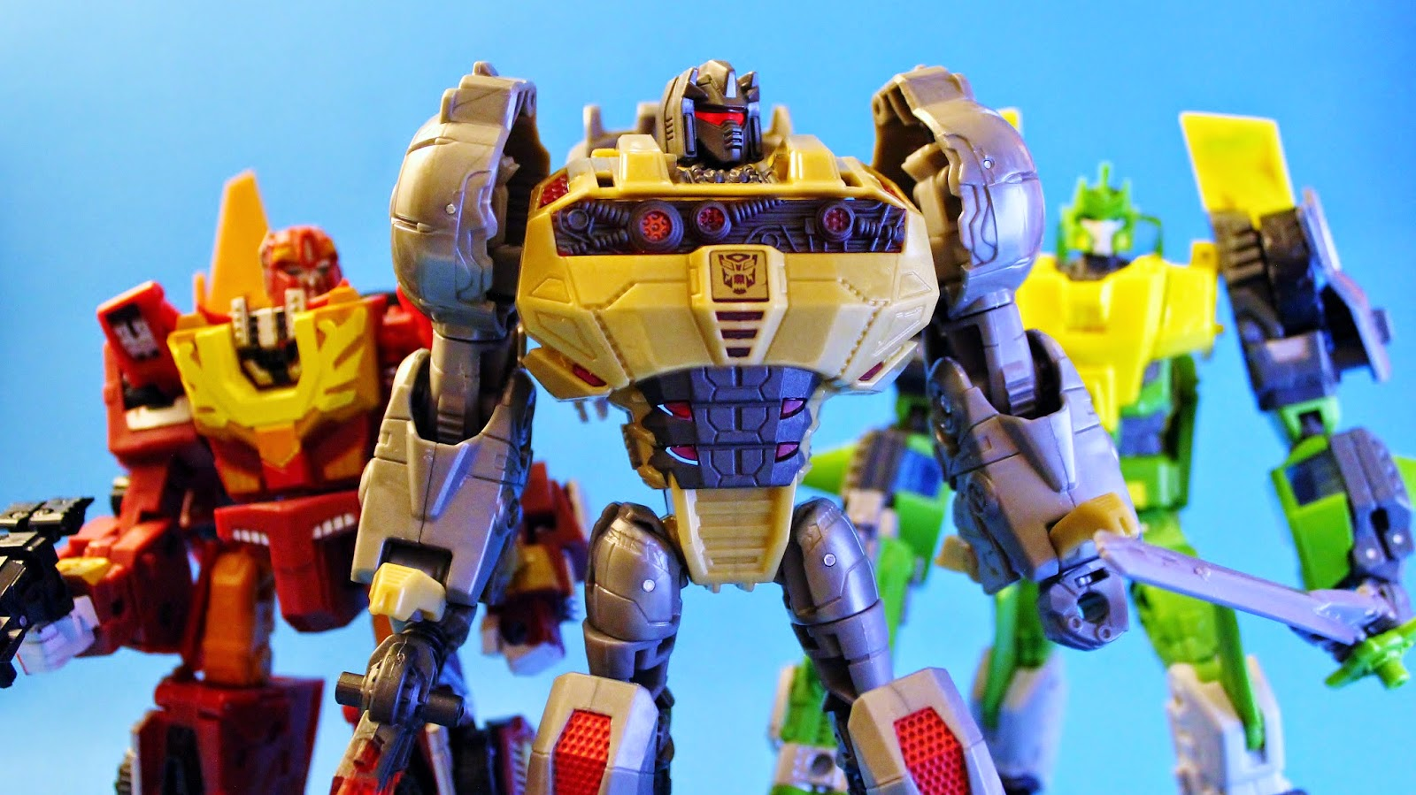 Transformers - The Movie 1986 Toy Collection Classics Universe Generations Rodimus Grimlock Springer Prime