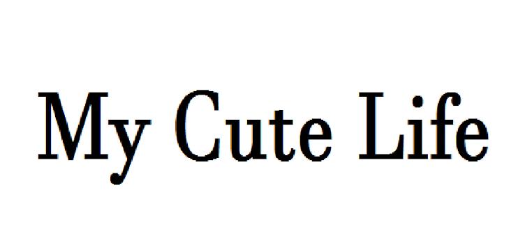 my cute life/ obraz