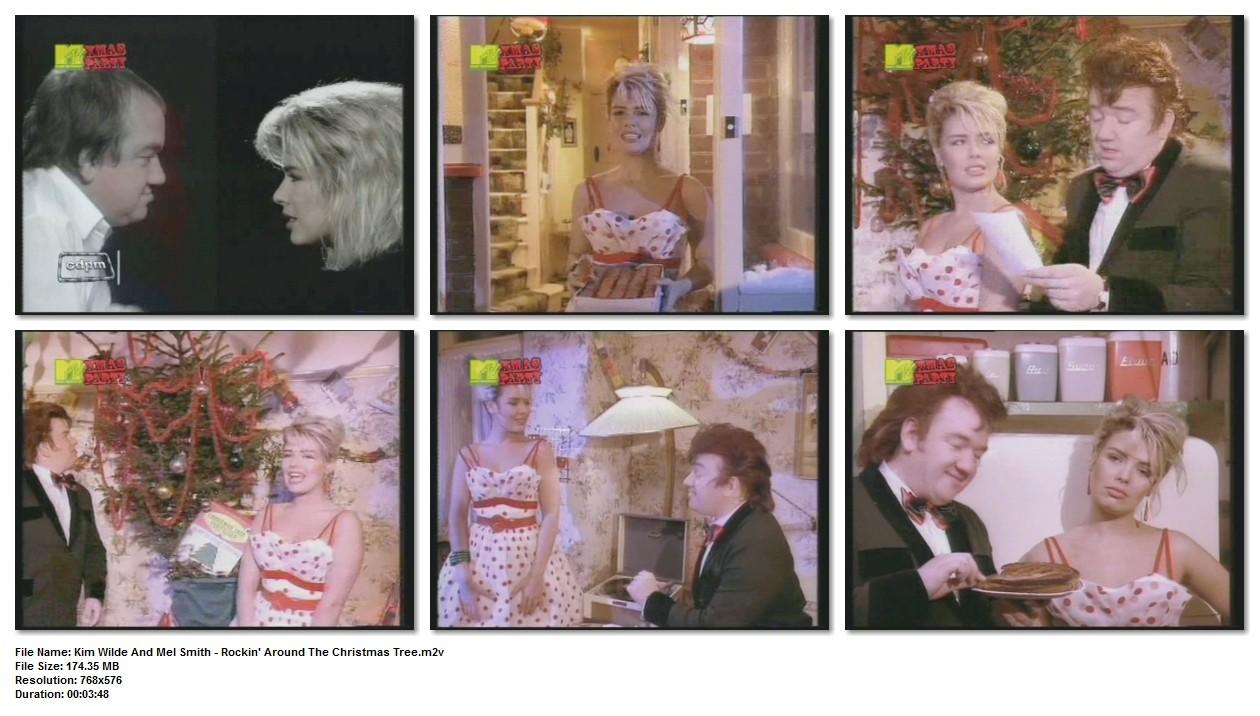 80's Pop Divas: Kim Wilde And Mel Smith - Rockin' Around The Christmas Tree