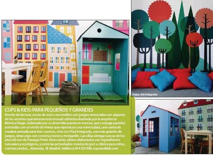 M nica diago arquitectura cups and kids en la revista - Peluqueria nuevo estilo ...