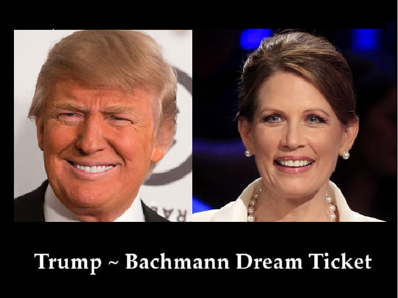 Bachmann must be the VP