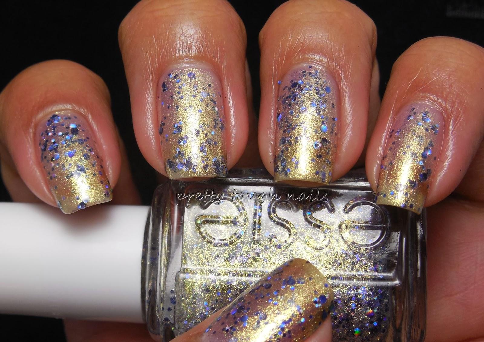 pretty::tough::nails::: Essie Encrusted Treasures On A Silver ...