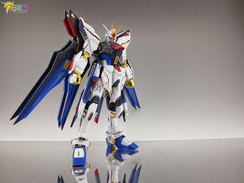 Gundam Family: MG 1/100 Strike Freedom Gundam Custom Build