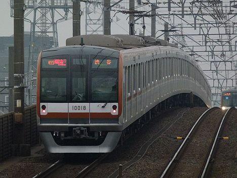 東京メトロ副都心線 通勤急行 渋谷行き 10000系