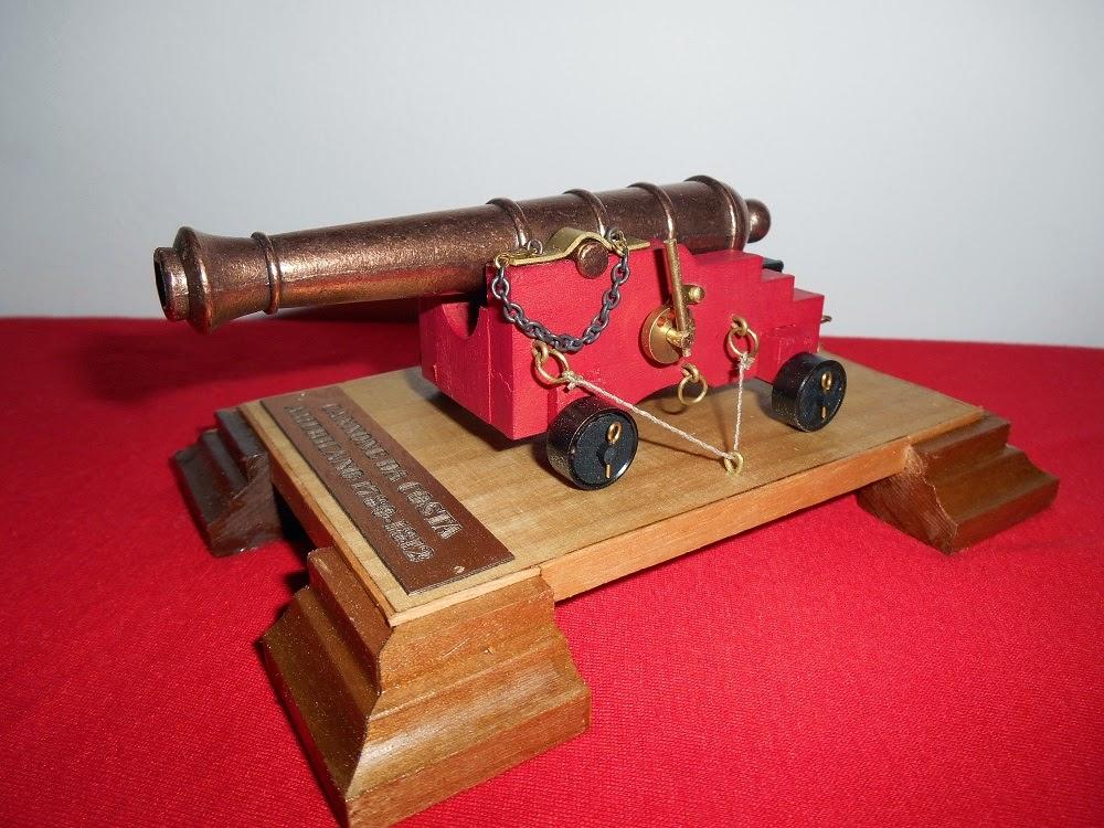 maquetismo de armas antiguas