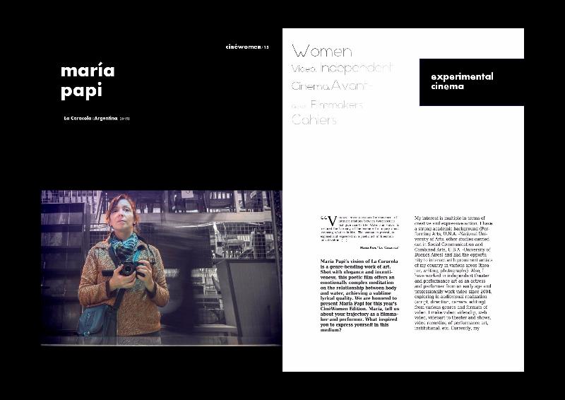 Entrevista CinéWomen 2016