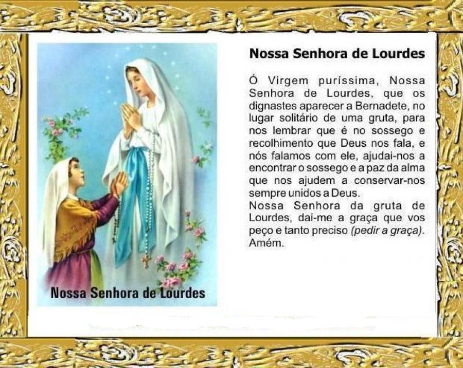 Marianos Da Bom Jesus Nossa Senhora De Lourdes