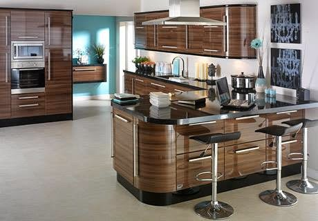 Luxury Italian kitchen designs, ideas 2015, sets, Italian kitchens bright accent