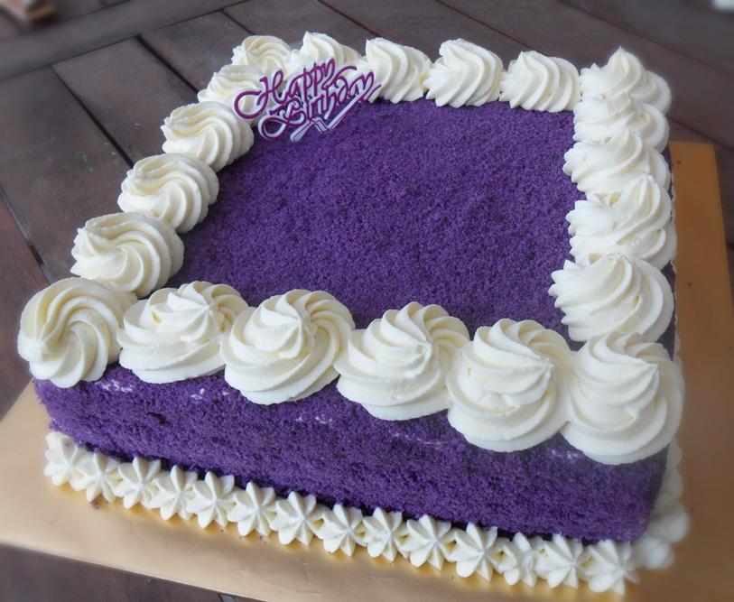How To Bake Ube Macapuno Cake