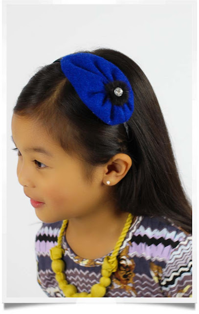 Sapphire Bernadette Headband | Republic of Pigtails | Chichi Mary