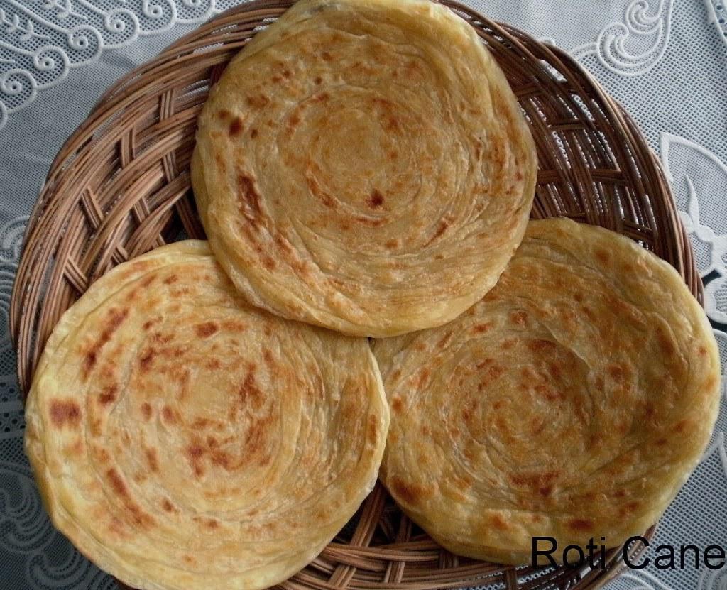 Resep Cara Membuat Roti Cane Atau Canai Paling Mudah