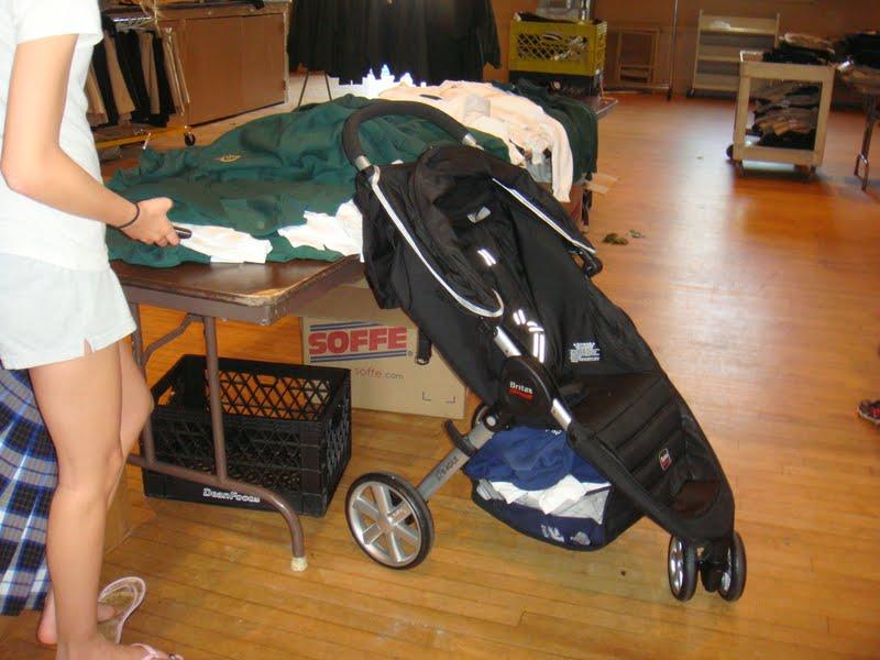 My Britax Stroller