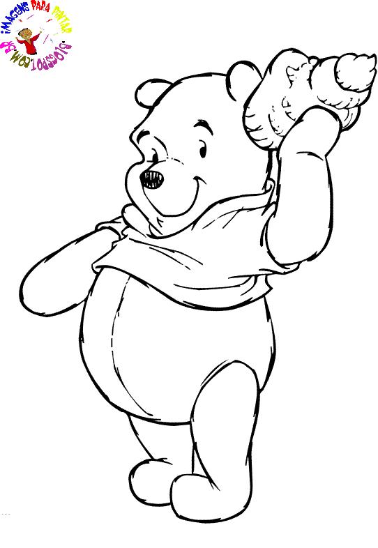 Desenho como desenhar Ursinho Pooh pintar e colorir
