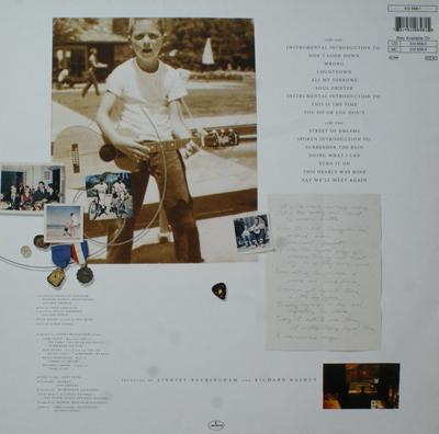 Lindsey Buckingham Go Insane Vinyl Lindsey Buckingham Go